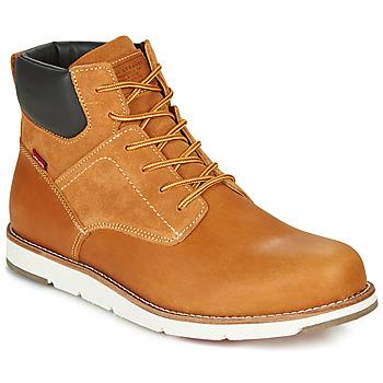 Shoes Men Mid boots Levi's JAX PLUS Brown