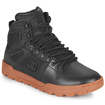 Shoes Men High top trainers DC Shoes PURE HIGH TOP WR BOOT Black