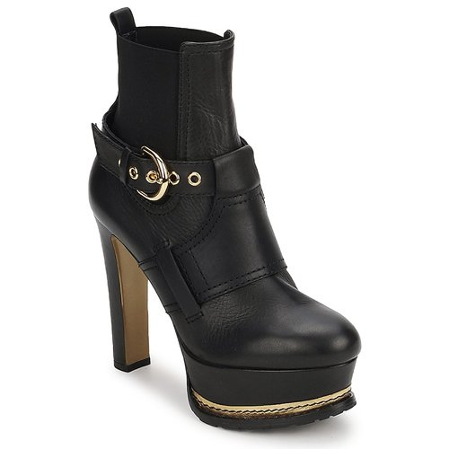 Shoes Women Ankle boots Moschino MA2105 Black