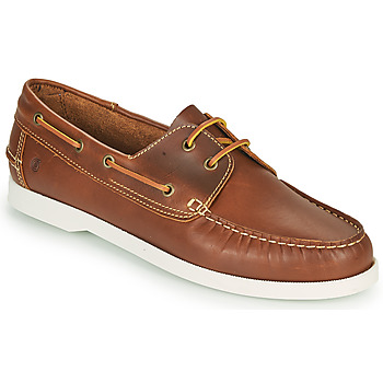 Shoes Men Boat shoes Casual Attitude REVORO Brown