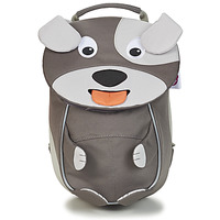 Bags Children Rucksacks Affenzahn DAVID DOG Grey