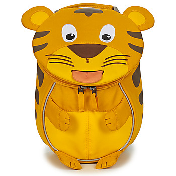Bags Children Rucksacks Affenzahn TIMMY TIGER Yellow