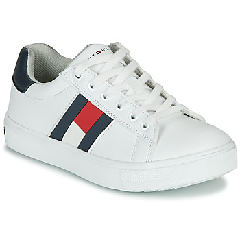 Shoes Boy Low top trainers Tommy Hilfiger T3B4-30921 White