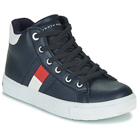 Shoes Boy High top trainers Tommy Hilfiger T3B4-30925 Black