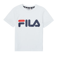 material Children short-sleeved t-shirts Fila LEA White