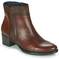 Shoes Women Ankle boots Dorking ALEGRIA Brown