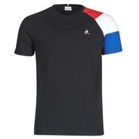 material Men short-sleeved t-shirts Le Coq Sportif ESS TEE SS N°10 M Black