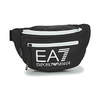 Bags Bumbags Emporio Armani EA7 TRAIN CORE U SLING BAG Black / White