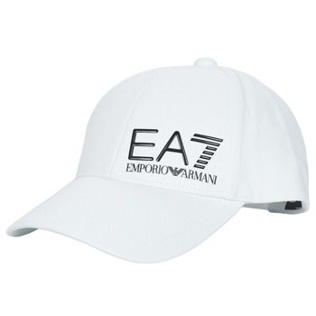 Clothes accessories Men Caps Emporio Armani EA7 TRAIN CORE ID M LOGO CAP White