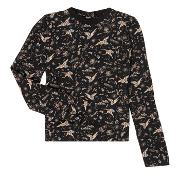 material Girl Long sleeved shirts Ikks XR12052 Black