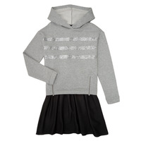 material Girl Short Dresses Ikks XR30112 Grey