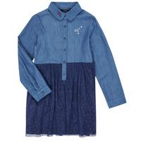 material Girl Short Dresses Ikks XR30122 Blue