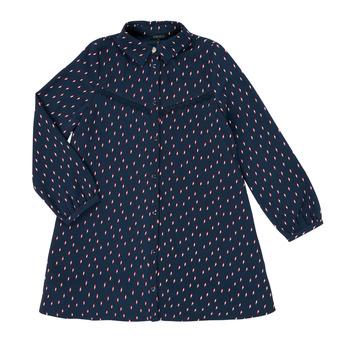 material Girl Short Dresses Ikks XR30152 Blue