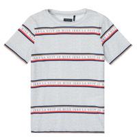 material Boy short-sleeved t-shirts Ikks XR10003 Grey
