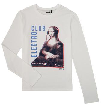 material Boy Long sleeved shirts Ikks XR10333 White