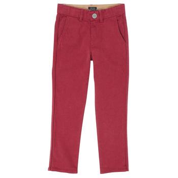 material Boy 5-pocket trousers Ikks XR22093J Red