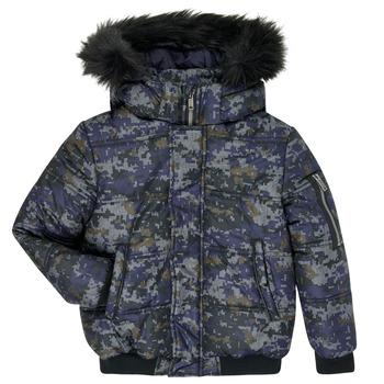 material Boy Duffel coats Ikks XR41133 Blue