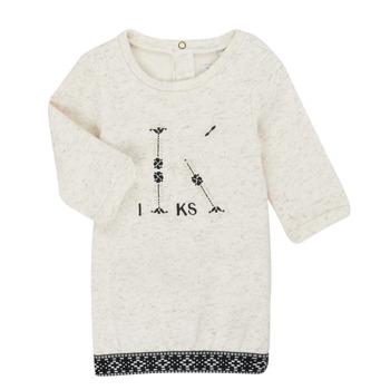 material Girl Short Dresses Ikks XR30180 Beige