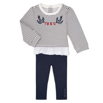 material Girl Sets & Outfits Ikks XR36030 Marine / White