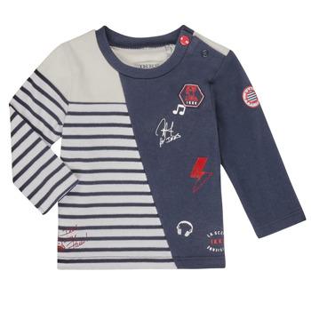 material Boy Long sleeved shirts Ikks XR10041 White