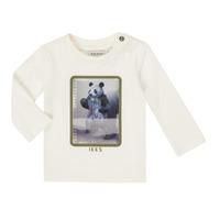 material Boy Long sleeved shirts Ikks XR10101 White
