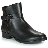 Shoes Women Mid boots Caprice 25331-045 Black
