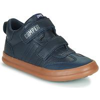 Shoes Children Low top trainers Camper POURSUIT Marine