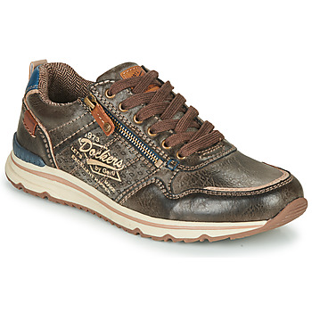 Shoes Men Low top trainers Dockers by Gerli 42MO007 Brown