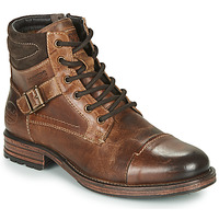 Shoes Men Mid boots Dockers by Gerli 43DY008 Brown