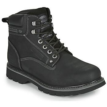 Shoes Men Mid boots Dockers by Gerli 23DA004 Black