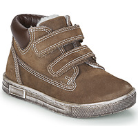 Shoes Boy High top trainers Chicco CLAY Brown
