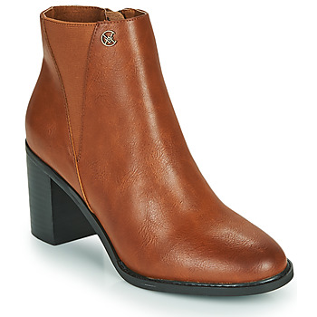 Shoes Women Ankle boots Chattawak MORENO Camel
