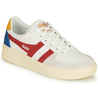 Shoes Women Low top trainers Gola GRANDSLAM TRIDENT White / Red