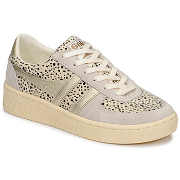 Shoes Women Low top trainers Gola GRANDSLAM SAVANNA White / Cheetah