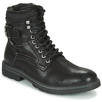 Shoes Men Mid boots Tom Tailor 85607-NOIR Black