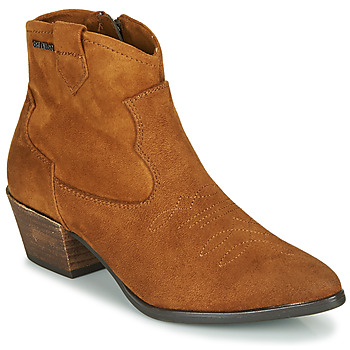 Shoes Women Ankle boots Tom Tailor 90302-COGNAC Cognac