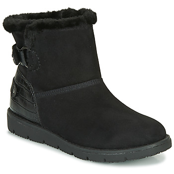 Shoes Women Mid boots Tom Tailor 93105-NOIR Black