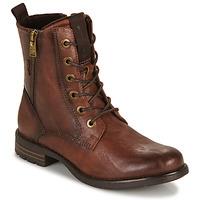 Shoes Women Mid boots Tom Tailor 93303-COGNAC Cognac