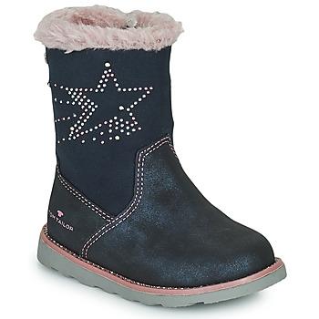 Shoes Girl Boots Tom Tailor 72307-BLEU Blue
