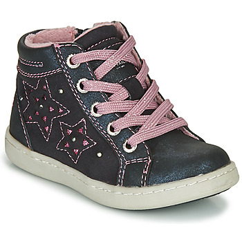 Shoes Girl High top trainers Tom Tailor 72702-BLEU Marine / Pink