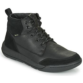 Shoes Men Mid boots Clarks ASHCOMBEHIGTX Black