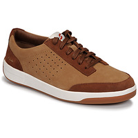 Shoes Men Low top trainers Clarks HERO AIR LACE Camel