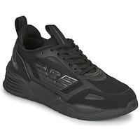 Shoes Men Low top trainers Emporio Armani EA7 XK165 Black