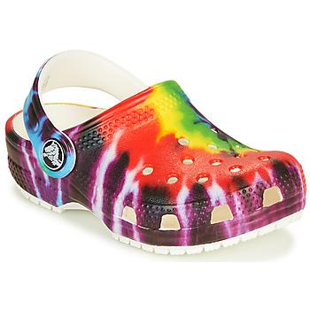 Shoes Children Clogs Crocs CLASSIC TIE DYE GRAPHIC CLOG K Multicolour