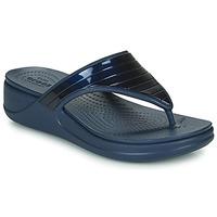 Shoes Women Flip flops Crocs CROCSMONTEREYMETALLICSTPWGFPW Marine
