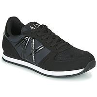 Shoes Women Low top trainers Armani Exchange  Black