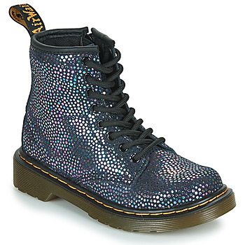 Shoes Girl Mid boots Dr Martens 1460 J Black / Metallic
