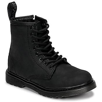 Shoes Children Mid boots Dr Martens 1460 SERENA MONO J Black