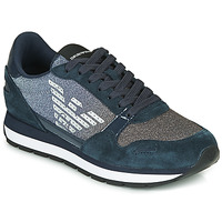 Shoes Women Low top trainers Emporio Armani X3X058-XM510 Marine