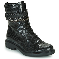 Shoes Women Mid boots Mjus CAFE SNAKE Black